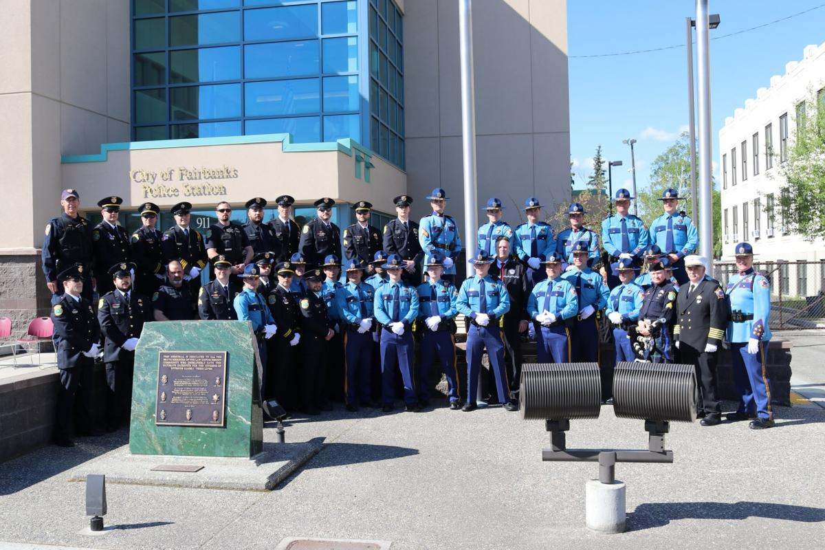 2019 Police Memorial Day Fairbanks Alaska